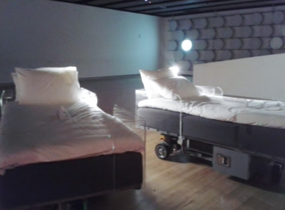 Two roaming beds (grey) 2015