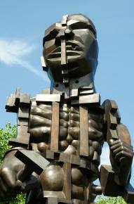 Eduardo Paolozzi Vulcan 1999 Bronze (4)